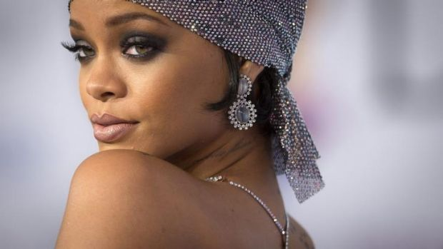 Targeted by hackers: Rihanna.