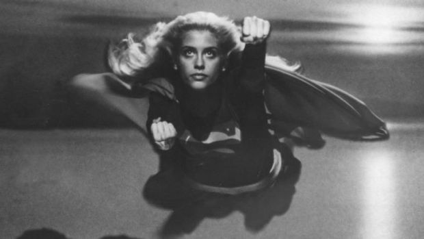 Helen Slater as Supergirl in the 1984 feature film.