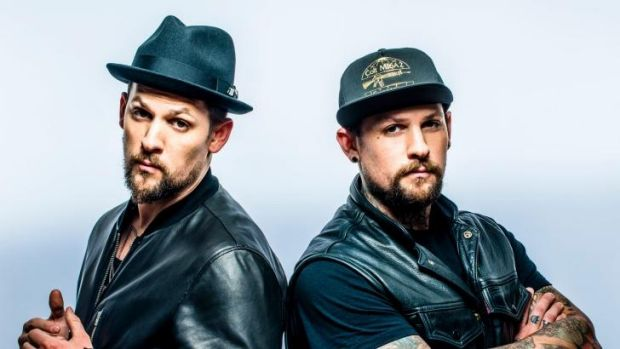Joel and Benji Madden scored a no.1 album with their debut <i>Greetings from California</i>.