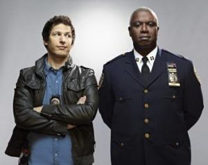 Lost on SBS: Andy Samberg and Andre Braugher in <i>Brooklyn Nine-Nine</i>.