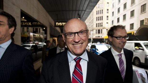 Seeking damages in the NSW Supreme Court: Ian Macdonald arrives at ICAC hearings last year.