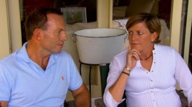 Political family: Cr Forster with her brother, Prime Minister Tony Abbott.