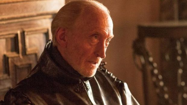 Charles Dance as Tywin Lannister in Game of Thrones.
