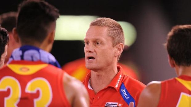 Guy McKenna has a year to run on his contract but has been under pressure since the Suns fell out of finals contention