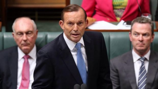 """""""Australians will have to endure more security than we're used to"""": Tony Abbott addresses Parliament on the terrorist ..."""