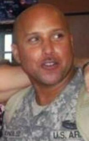 Under arrest: Omar Gonzalez, who entered the White House after scaling a fence, was a decorated soldier.