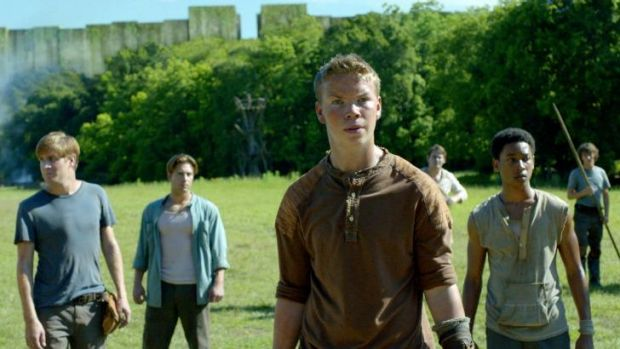 Young-adult epic: <i>The Maze Runner</i> won the top spot at the weekend box-office.