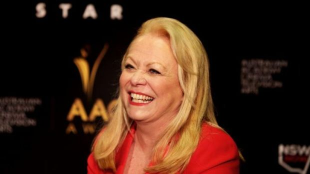 Jacki Weaver on the promo trail in Sydney this year.