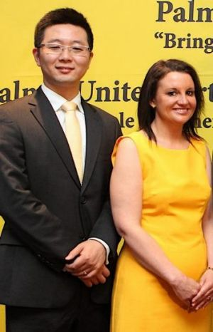 """Jacqui Lambie: Clive Palmer """"said the same thing to me about Dio"""" [Wang] not being bright."""