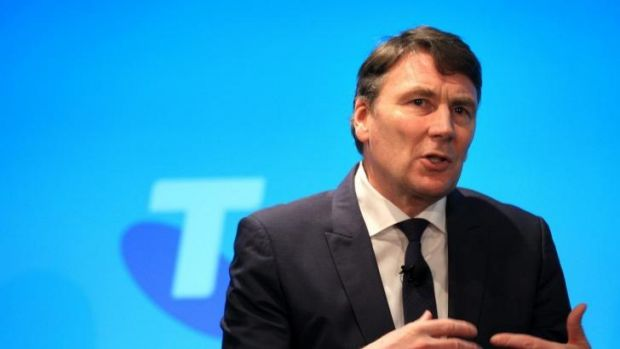 Under fire: Telstra chief executive David Thodey fronted shareholders on Tuesday.