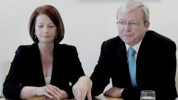 Julia Gillard says that Kevin Rudd asked to be reinstated as foreign affairs minister after his failed leadership ...