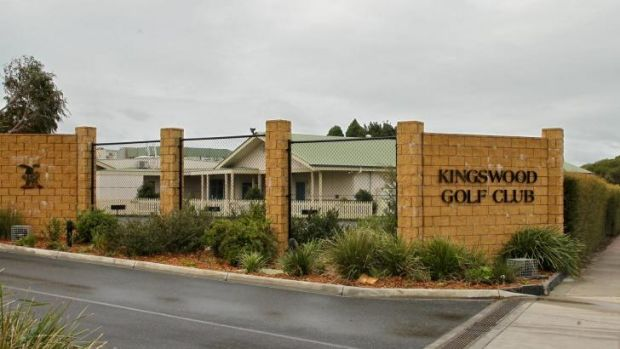 Kingswood golf club in Dingley. The club is merging with Peninsula golf club and selling the land.