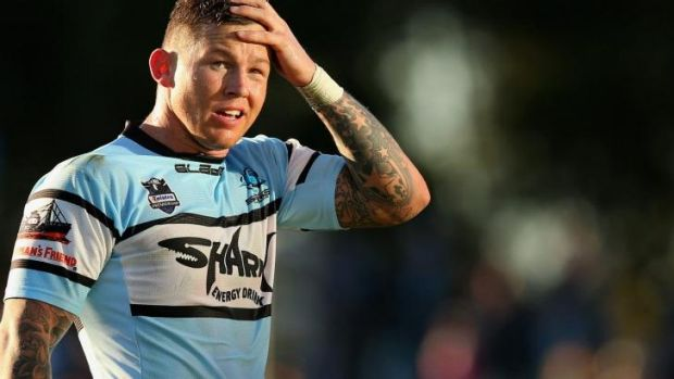Hoping to get back on track: Todd Carney.