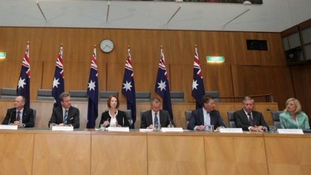 The Council of Australian Government (COAG) meeting in 2012 where Katy Gallagher took on Campbell Newman.