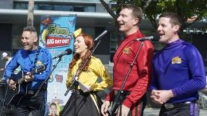 Live in Canada: In Toronto the Wiggles played to 20,000 children over two days.