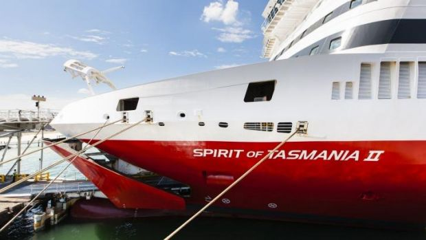 Man arrested: Spirit of Tasmania.