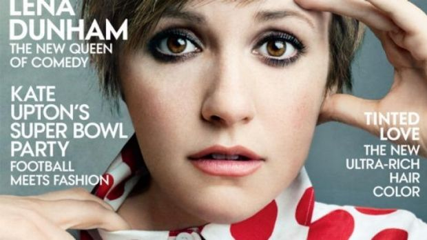 Lena Dunham's <i>Vogue</i> cover. The website <i>Jezabel</i> caused a stir for calling out the Photoshopping, but Dunham ...