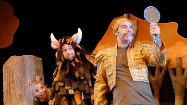 Children's favourite The Gruffalo is on at the Canberra Theatre Centre.