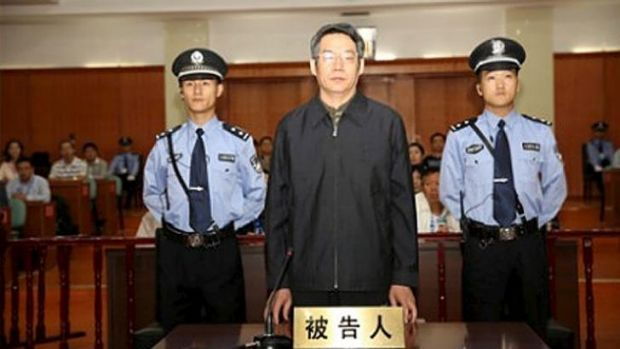 Pleaded guilty to accepting more than 35 million yuan in bribes: Liu Tienan at LangfangPeople's Intermediate Court.