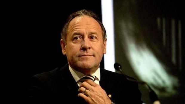 The former head of the Commonwealth Bank, Sir Ralph Norris, it to step into the chairman's role at Fletcher Building.