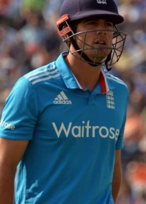 Ready to lead: Alastair Cook.