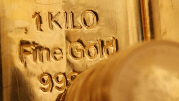 Demand for bullion as a safe haven investment has cooled amid forecasts for a strengthening US economy.