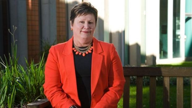 Liberals assembly member Nicole Lawder, who says her mother-in-law received poor treatment at Canberra Hospital
