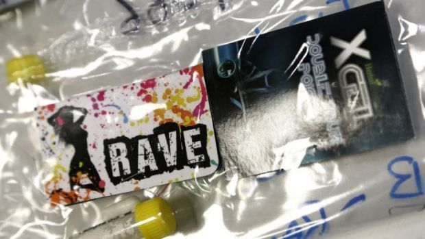 Concerns: An example of seized synthetic drugs in Canberra last year.