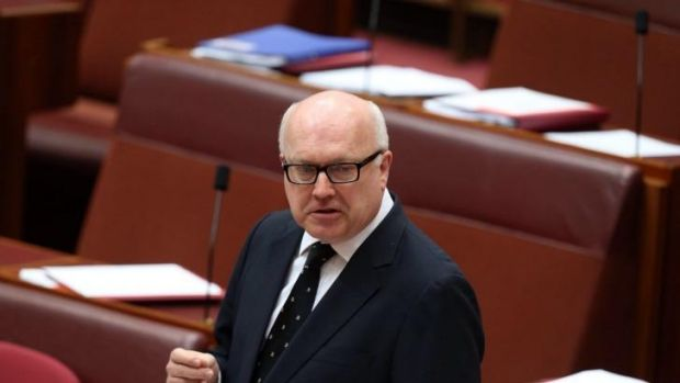 Attorney-General George Brandis praised the laws being passed.