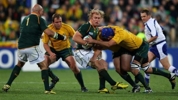 Springboks regular: The quarter-final clash against the Wallabies in 2011 was Schalk Burger's last match for South ...