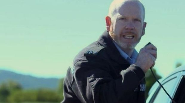 Canberra actor Dan Halpin, who formerly worked as a counter terrorism police officer and a national security agent, as a ...