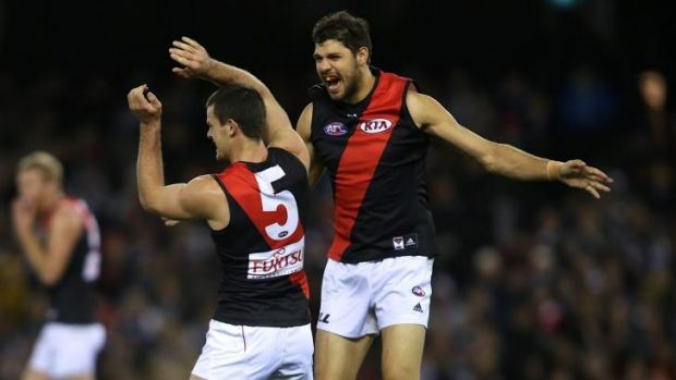 Port has offered Paddy Ryder (right) a five-year contract and told Essendon it would give up its first-round draft pick.