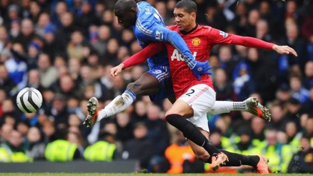 Injury concerns: Manchester United's Chris Smalling.