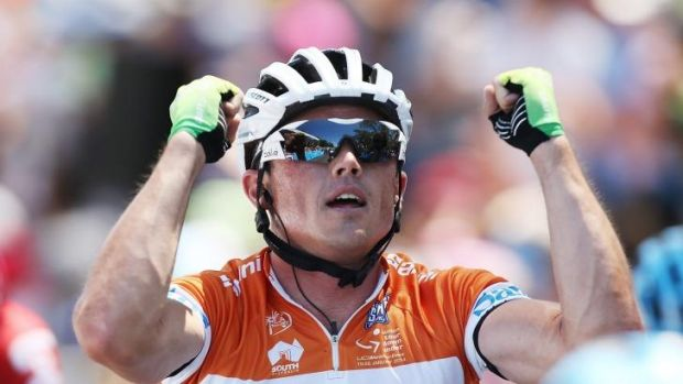In with a shot: Simon Gerrans will be chasing success in the world championships road race in Spain.