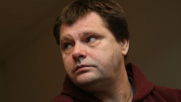 Belgian prisoner Frank Van Den Bleeken attending a hearing to determine if he will be allowed to be euthanised,