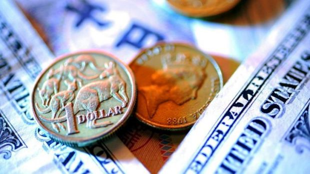 The Australian dollar has fallen to a six-month low.