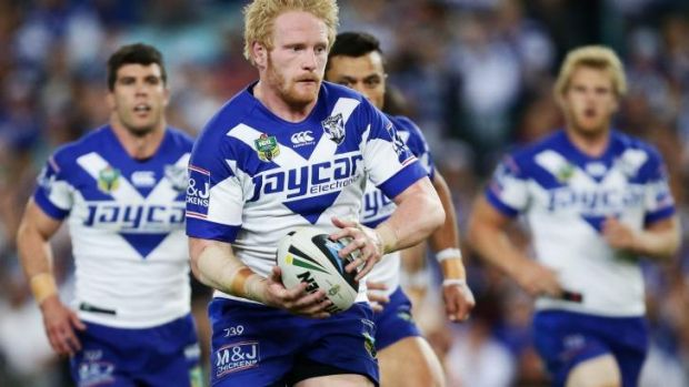Leading the pack: James Graham was all over the field on Saturday night.