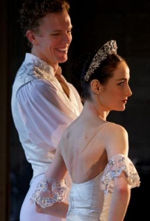 Pas de deux: Guests Adam Bull and Amber Scott added artistic flair to the Australian Ballet School's 50th Anniversary ...