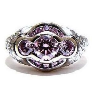 The ring worth $577,000 that was stolen on Saturday.