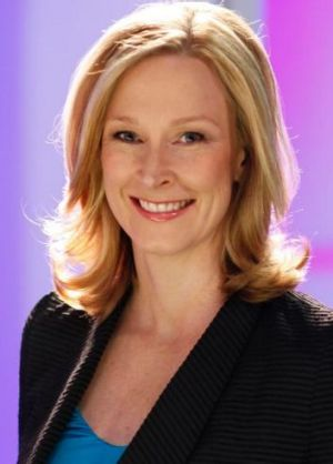 Former host of Lateline, now 7.30, Leigh Sales.