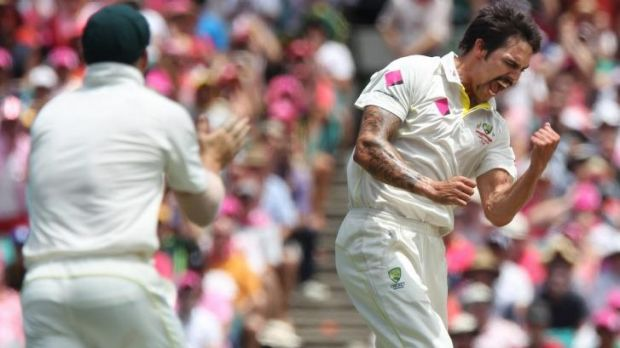 Left-armer Mitchell Johnson is the only paceman from Australia's last Test, in Cape Town in March, fit to face Pakistan, ...