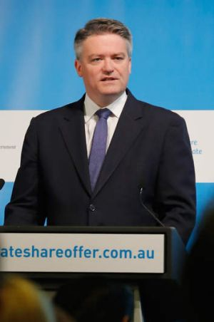 Minister for Finance Mathias Cormann.