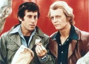 Two of the best: Starsky and Hutch was a classic duo, with Paul Michael Glaser just edging it in our opinion.