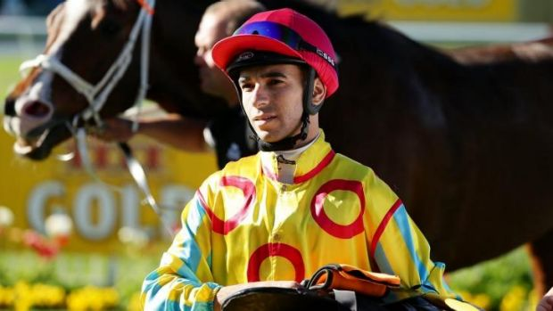 What a man: Moreira after winning at Newcastle last year.