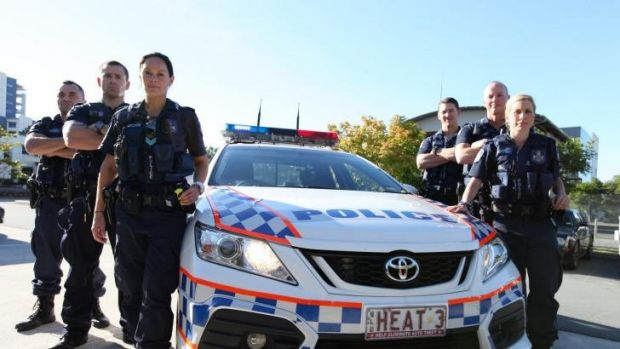 The Gold Coast's Rapid Action Patrol Group is the focus of the new 10-part Channel Ten series Gold Coast Cops.