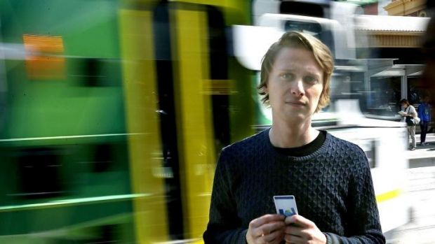 Ryan Heath was fined for not having a valid ticket while teaching others how to use the system.