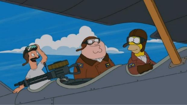 Top 7 Reasons Why Family Guy The Simpsons Crossover Worked