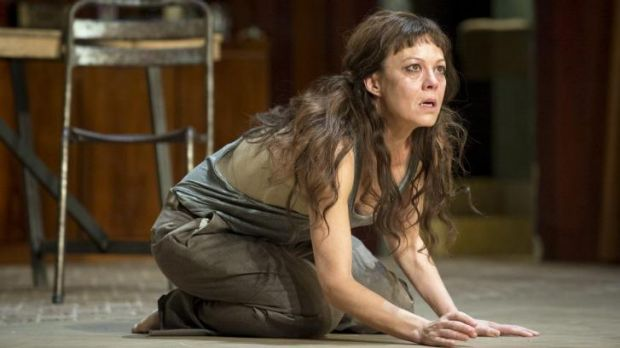Black magic: Helen McCrory as Medea is a masterpiece of self-desecrated womanhood.