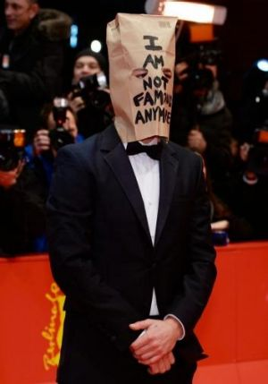 Shia LaBeouf on the red carpet in Berlin for <i>Nymphomaniac Volume I</i> in February.