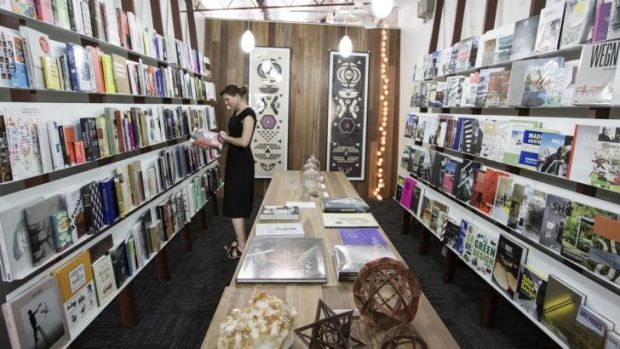 New location: Published Art book store in Surry Hills had curates its collection.